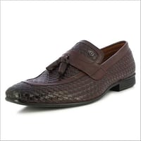 Alberto Torresi Mens Sauron Bordo Tassel Slip On Shoes