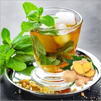 Ginger And Mint Green Tea