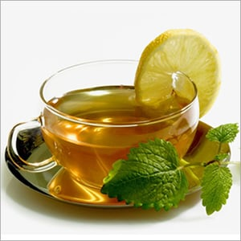 Lemon And Mint Green Tea