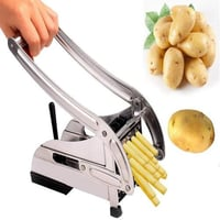 083 Stainless Steel French Fries Potato Chips Strip Cutter Machine