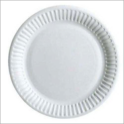 12 Inch White Disposable Paper Plate