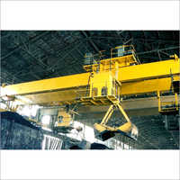 EOT Crane With Grab And Bucket Camera