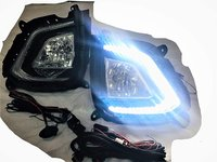 AUTOFASTERS Car Fog Lights with DRL For Hyundai Creta