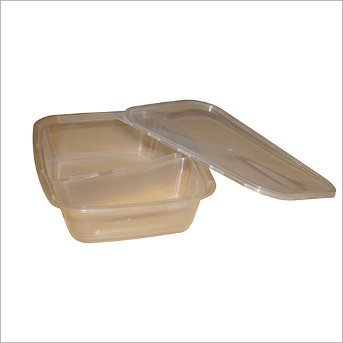 2 Partition Food Container