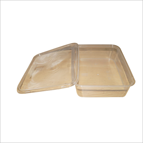 500ml Rectangular Microwavable Container