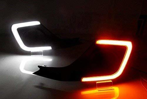 Autofasters Car Fog Lamp Daytime  Running Lights (DRL) For New Swift -2018