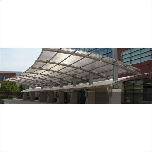 FRP Car Parking Roofing Sheet