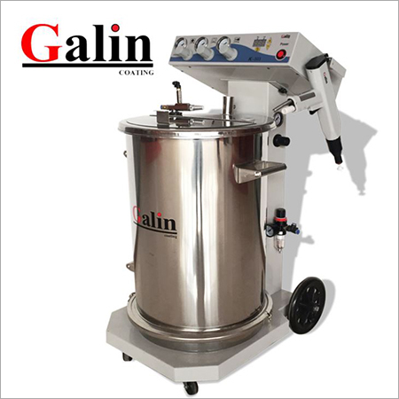 Galin K303 Electrostatic Fluiding Hopper Powder Coating Machine