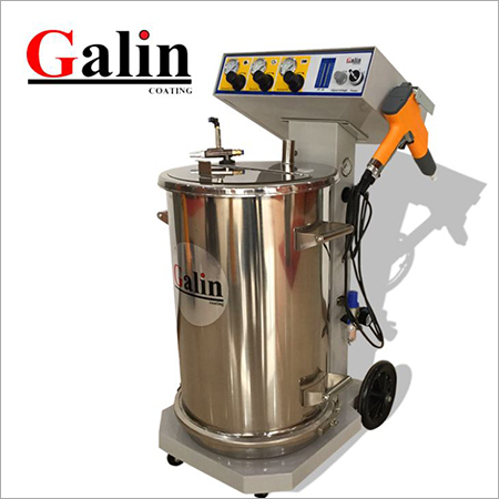 Galin ESP101 Electrostatic Fluiding Hopper Powder Coating Machine