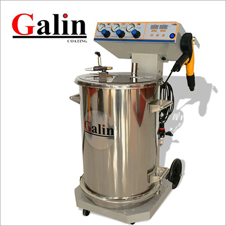 Galin TCL-3 Eletrostatic Fluding Hopper Powder Coating Machine