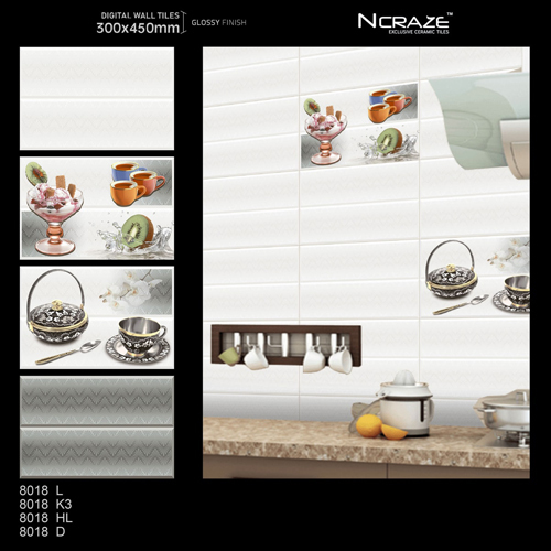 30 x 45 Kitchen Wall Tiles