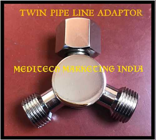 TWIN BPC FLOW METER ADAPTER