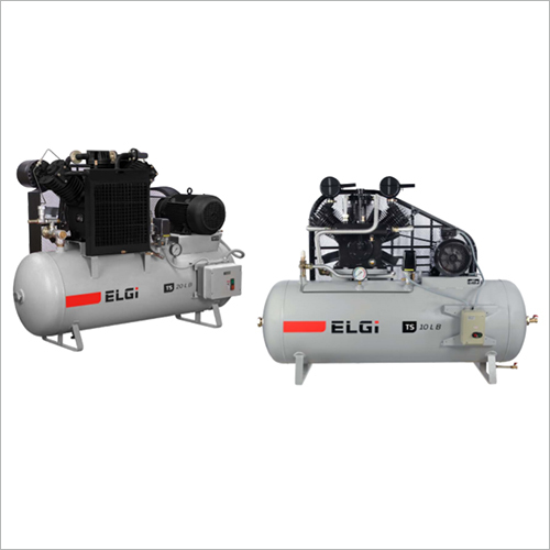 Single and Two-Stage Industrial Reciprocating Air Compressors