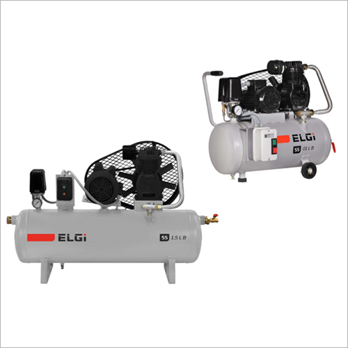Single-Stage Belt Drive Reciprocating Air Compressors