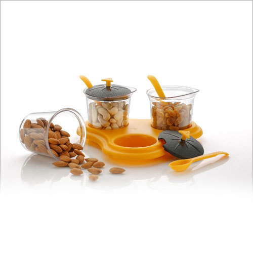 3 Piece Dining Dry Fruit Container