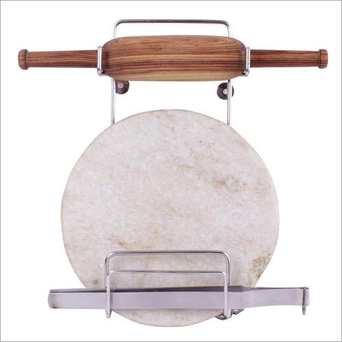 Stainless Steel Chakla Belan Stand