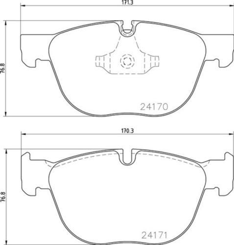 8DB 355 012-541 BMW FR Brake Pads