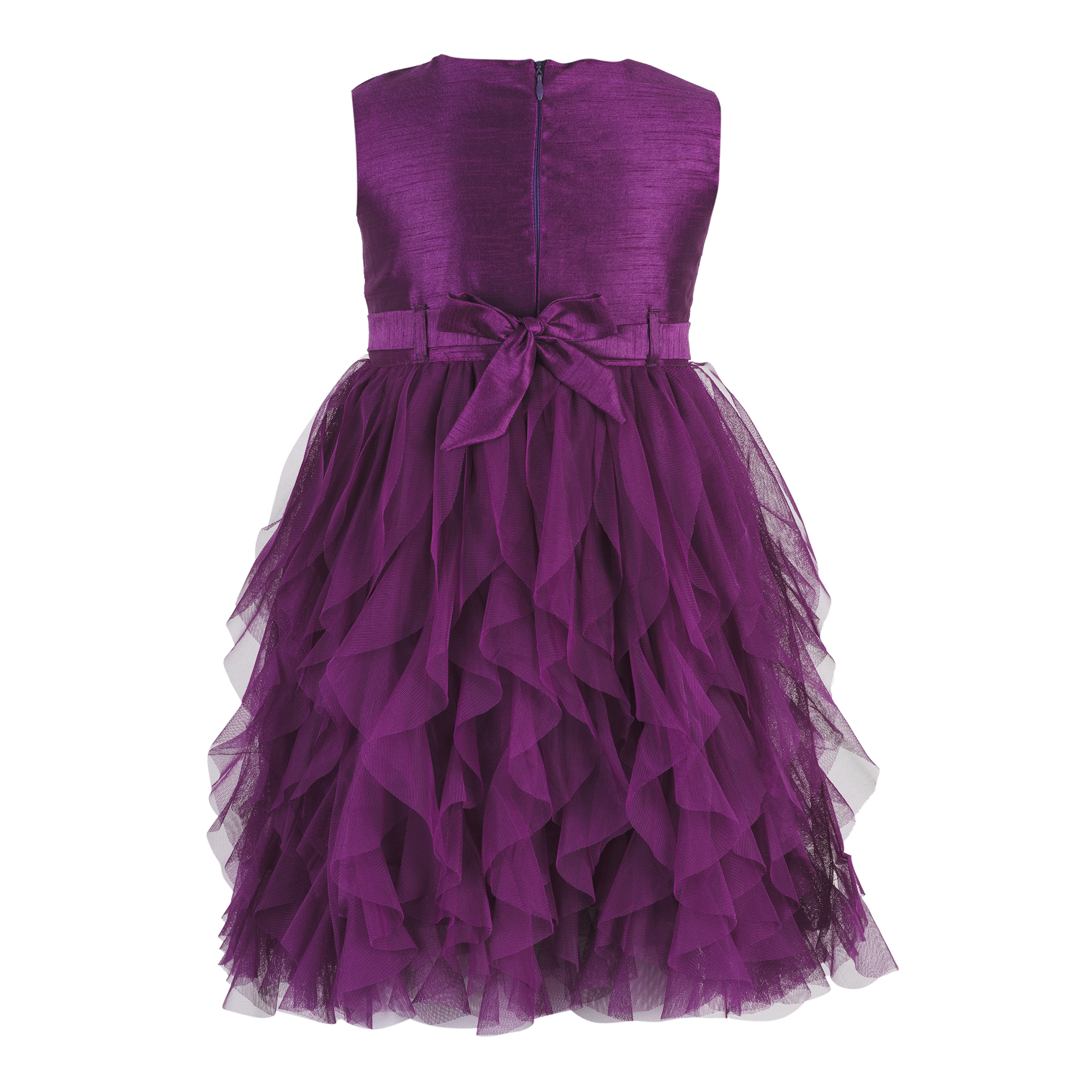 Violet Waterfall Dress