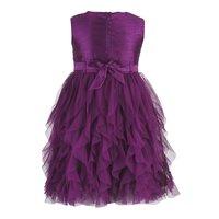 Violet Waterfall Dress