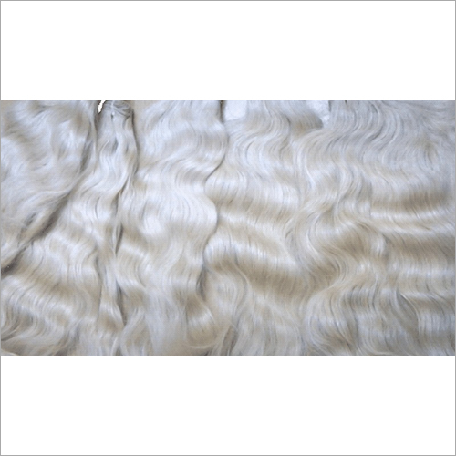 White Color Remy Hair Extension