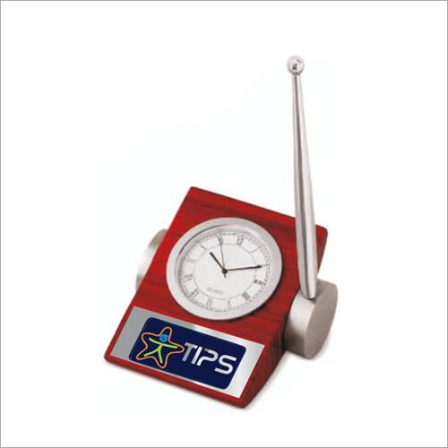 Paper Weight Cum Clock