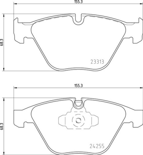 8DB 355 013-931 BMW FR Brake Pads