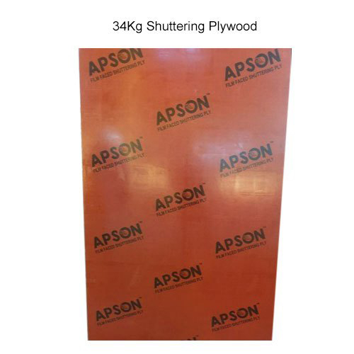 34Kg Shuttering Plywood