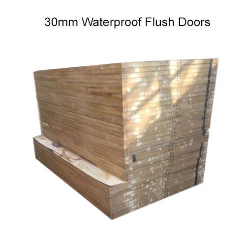 30mm Waterproof Flush Doors