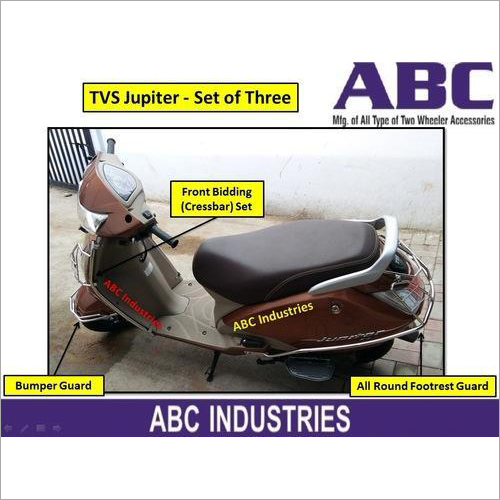 TVS Jupiter Crash Guard Set