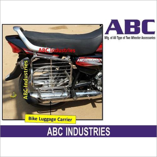 Motorcycle And Bike Luggage Carrier