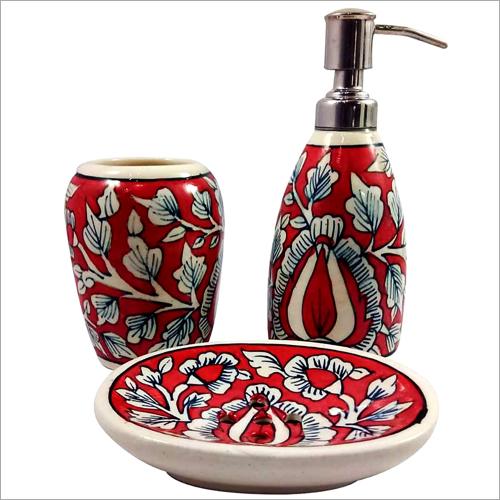 Ceramic Bathroom Accessories Set
