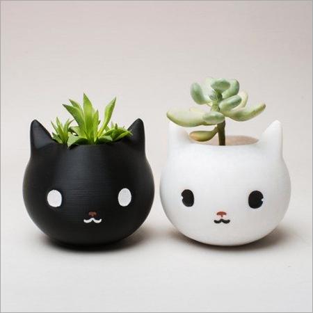 Ceramic Printed Planter