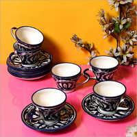 Ceramic Cup Saucer Set