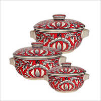 Ceramic Dish Serving Pot Set