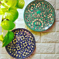 Ceramic Hand Painted Plate