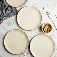 Ceramic Plain Plate