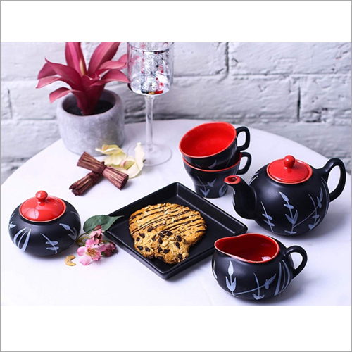 Ceramic Designer Tea Set