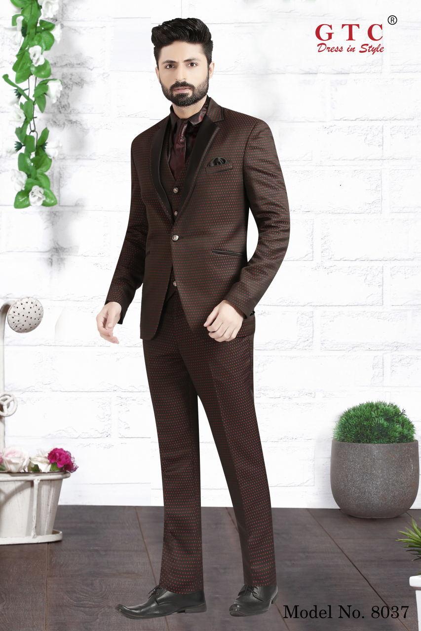 8037 Designer Men Suit