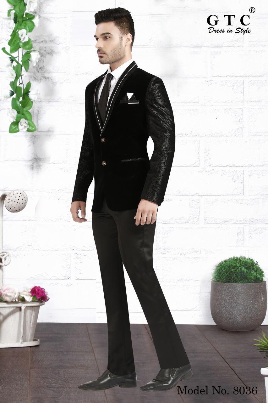 8036 Designer Men Suit