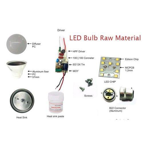 Gramlite Led Bulb Raw Material