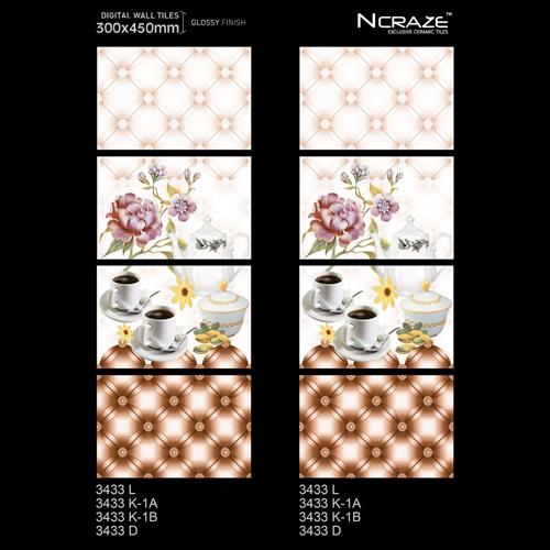 300X450MM Digital Printing Wall Tiles
