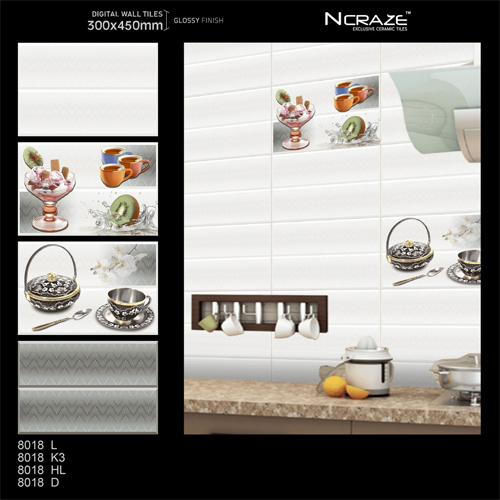 300x 450mm Awesome Kitchen Wall Tiles