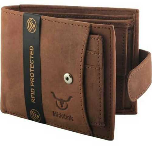 Costume leather wallet