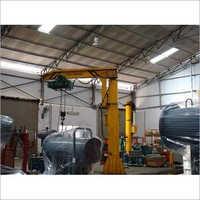 ABCO Heavy Duty Pillar Mounted JIB Crane, Max Height 20-40 Feet