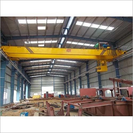 Electric Double Beam EOT Cranes, Max Load Capacity 3-20 Ton, Travel Speed 5-10 mmin