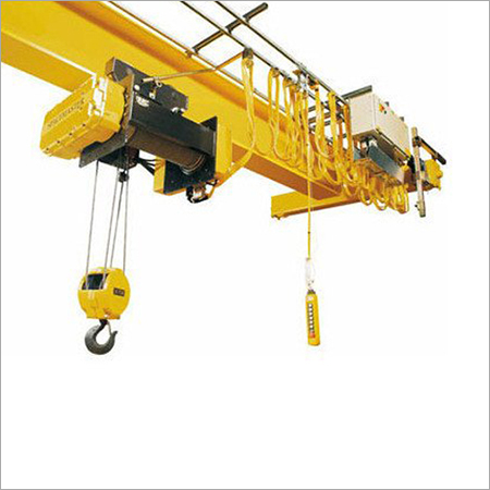 ABCO Single Beam EOT Crane, Span 20-30 M, Max Load Capacity 30-40 Ton