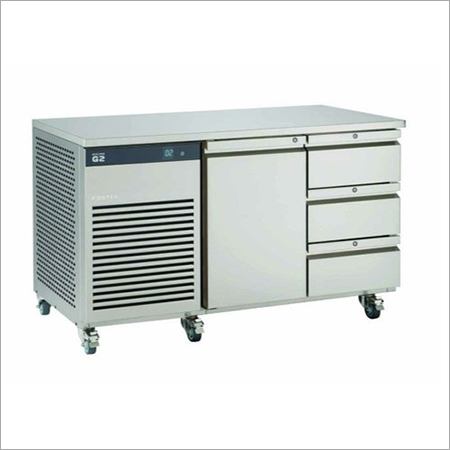 Stainless Steel Under Counter Refrigerator With Drawers