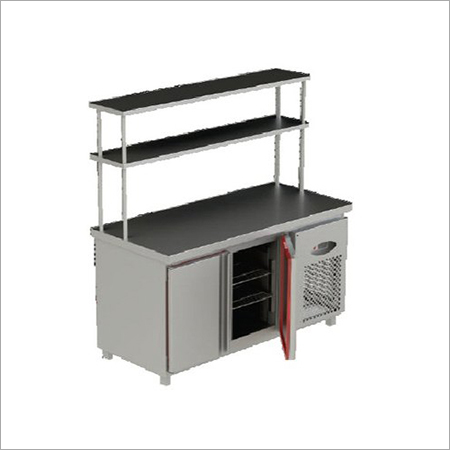 Stainless Steel Pick UP Counter With Under Refrigerator