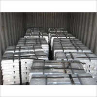 Zinc Ingots (98 Persent Zn Purity)