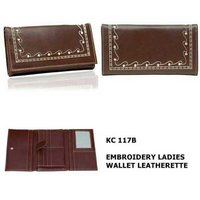Ladies wallet barndad leathers